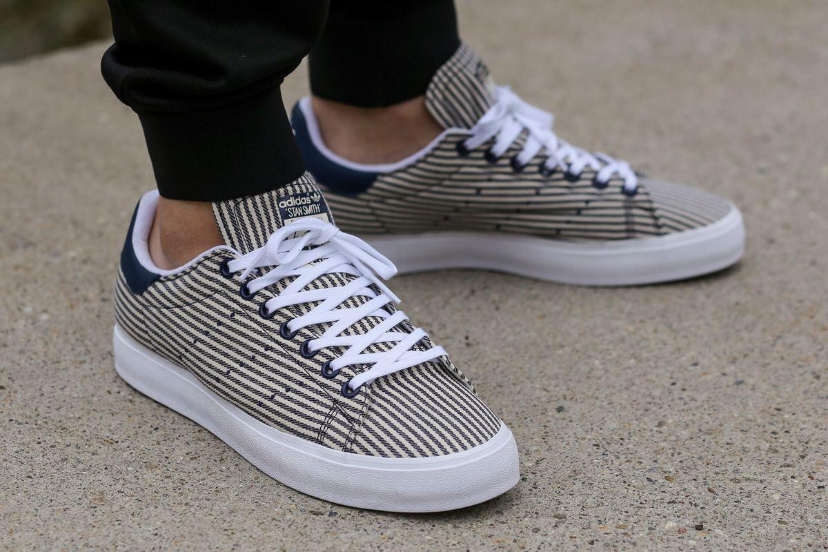 adidas stan smith mens white new navy adidas stan smith vulc white blue