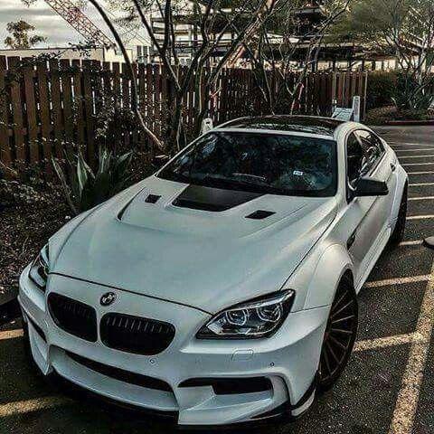 Bmw F06 M6 Gran Coupe Silver Widebody Bmw M Series Bmw Bmw Love