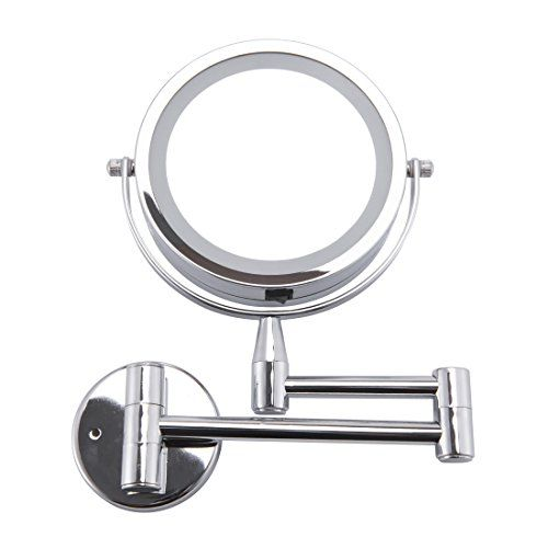Led Cosmetic Mirror Wall Mounted Double Side 1x 3x Magn Https Smile Amazon Com Dp B0749lhwg1 Adjustable Makeup Mirror Lighted Vanity Mirror Bath Mirror