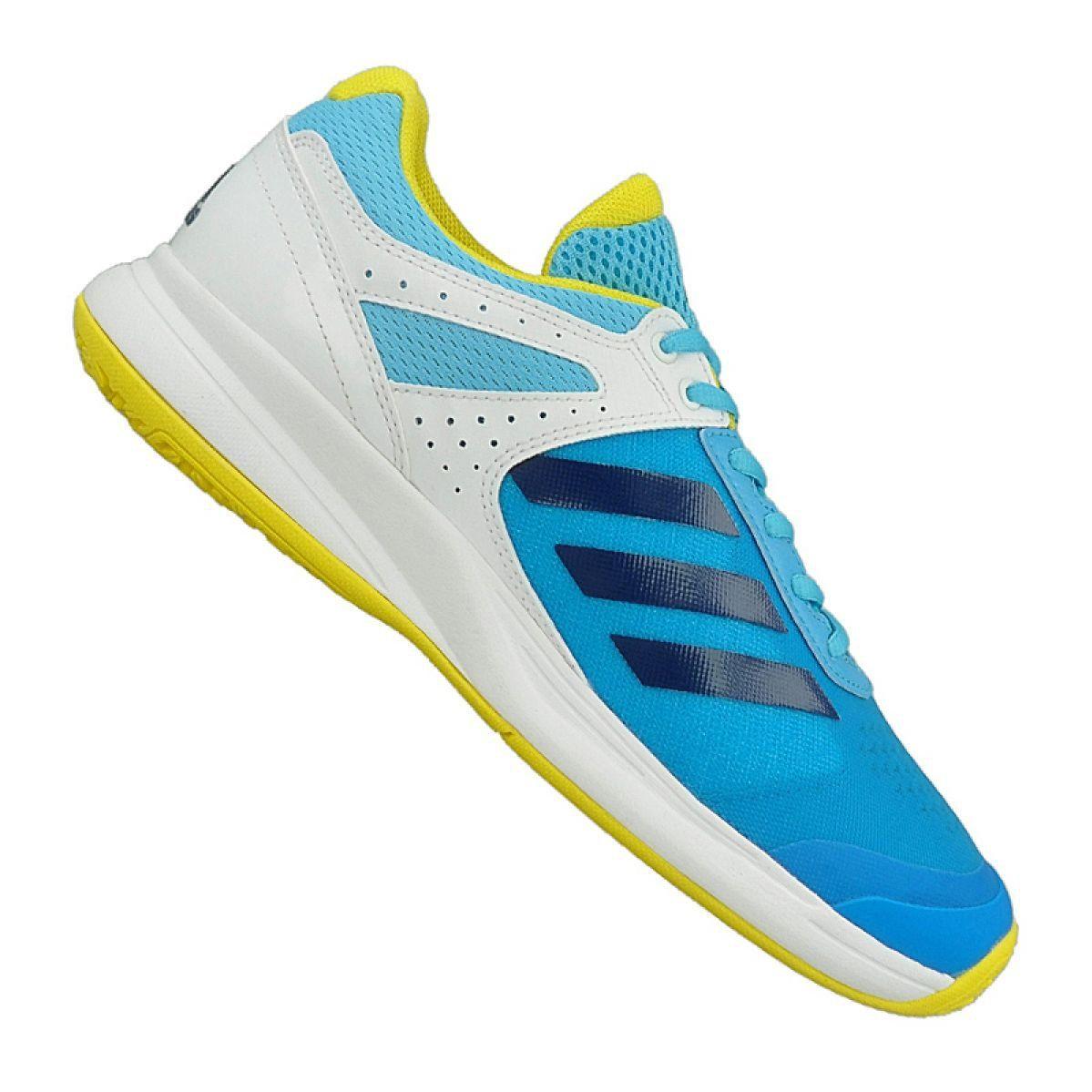 Buty Do Tenisa Adidas Adizero Court Oc M Bb3413 Niebieskie Adidas Blue Shoes Tennis Shoes