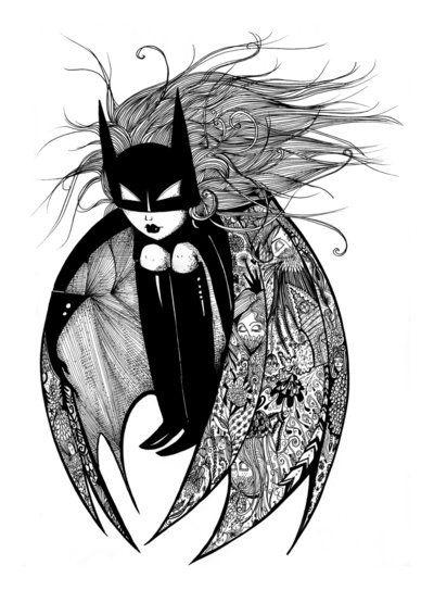 http://wanelo.com/p/7509936/batwoman-art-print-by-sherri-s-ink