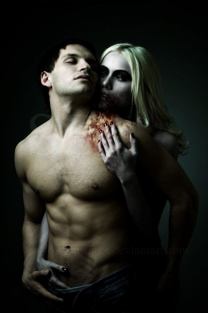 Umarmung Szene Sex Vampir