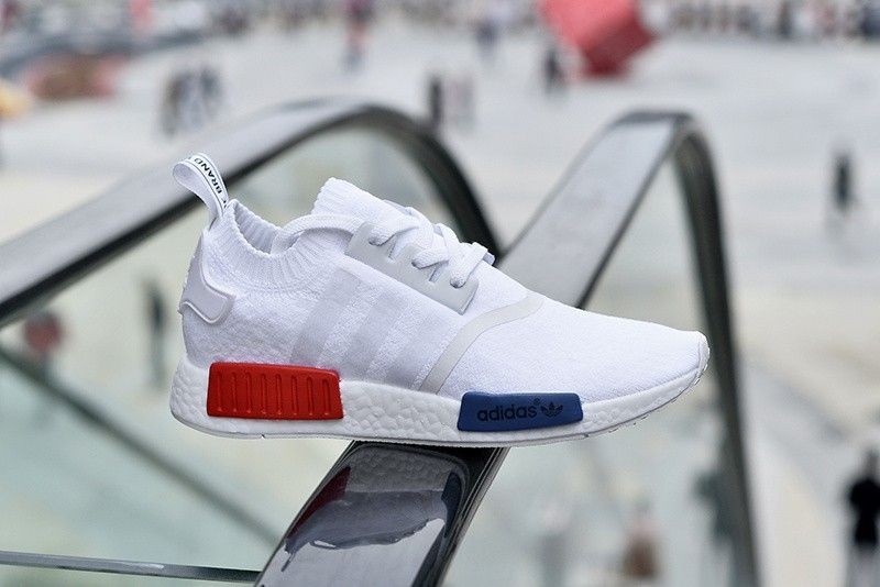 Mens Womens Shoes Adidas Originals NMD R1 Primeknit White