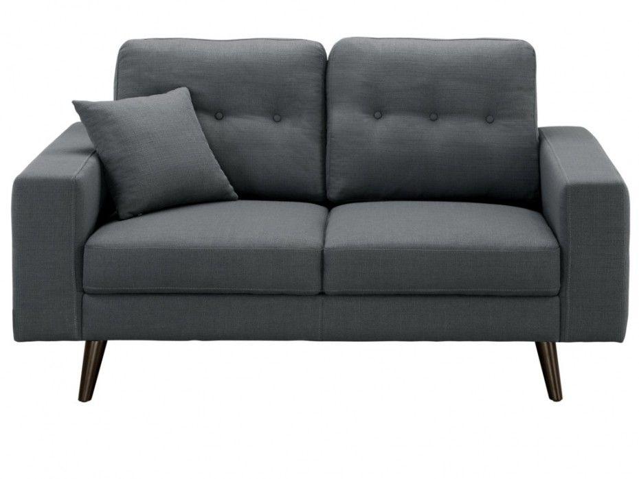 Kauf Unique 2 sitzer stoff baudelaire grau günstig kaufen möbel
