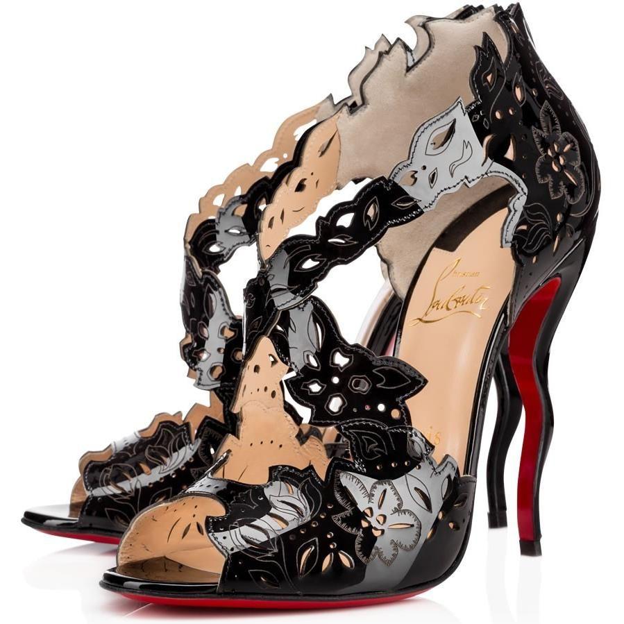 e74c1c5ed540 Christian Louboutin Decoupadiva Sandals as seen on Alessandra Ambrosio