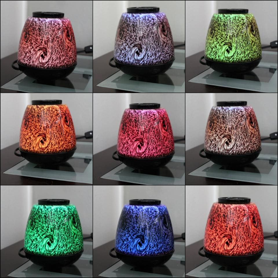 Love My New Scentsy Tiger S Eye Warmer One Warmer Led