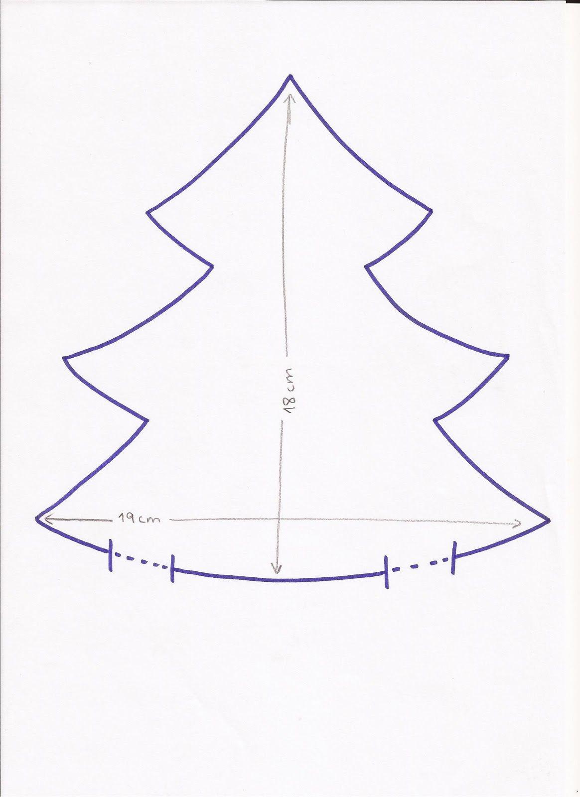 Patchwork en Casa - Patchwork with Love: Tutorial: Árbol de Navidad ...