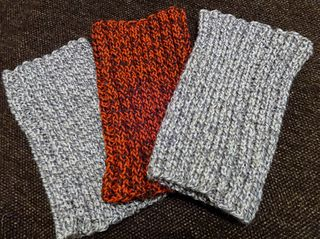 I searched everywhere for a free pattern to knit a snood ...