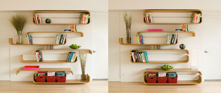 Cool Looking Shelves By Um Project 이미