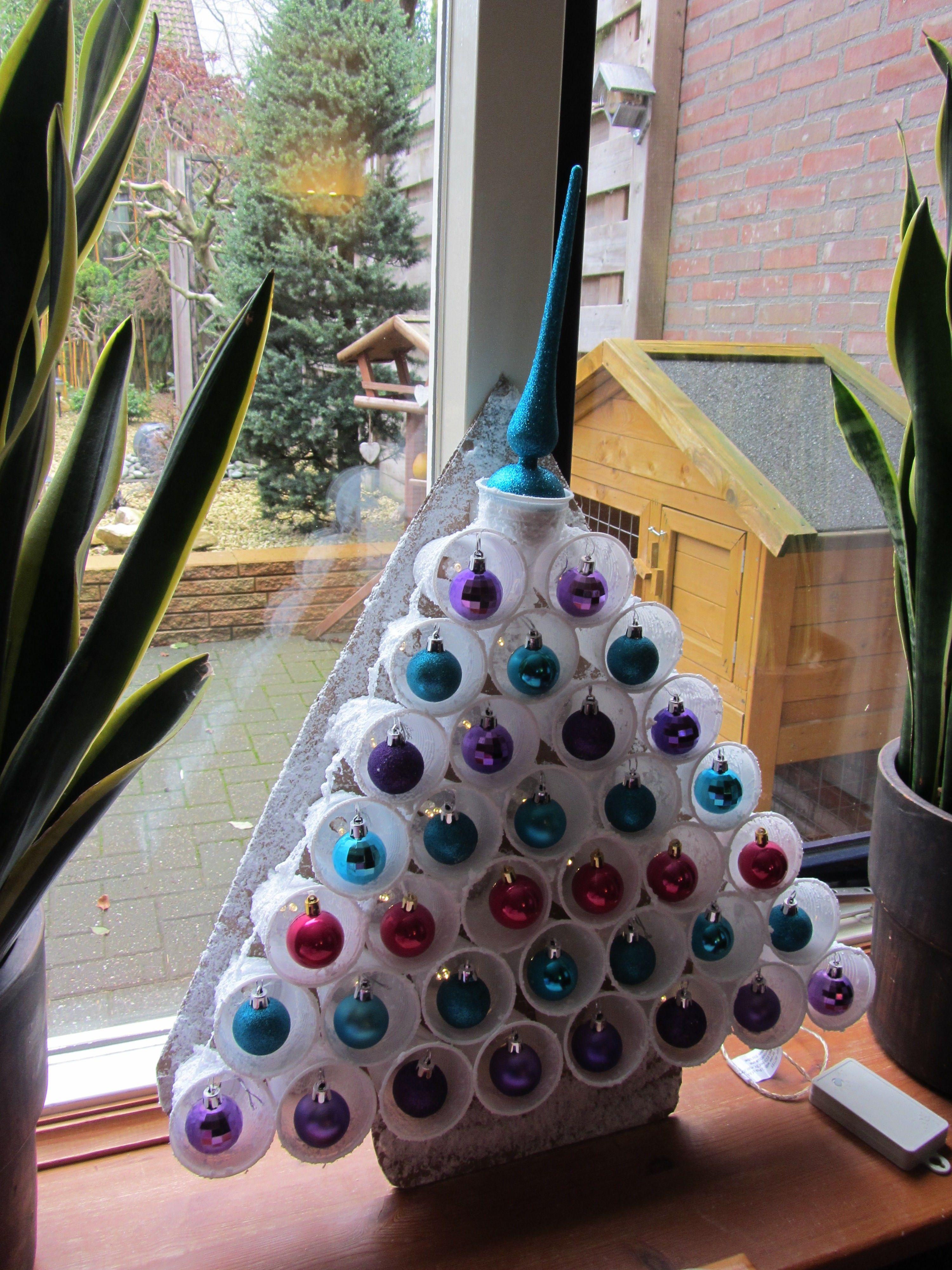 Creatief Met Plastic Bekers Kerst Cup Craft Christmas Deco Noel