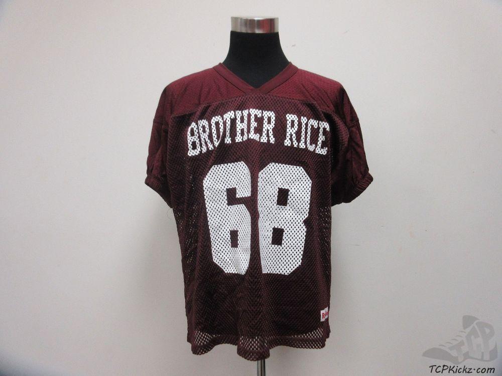 buy popular 4c90c cc428 Vtg 90s Riddell Brother Rice Crusaders Practice Football ...