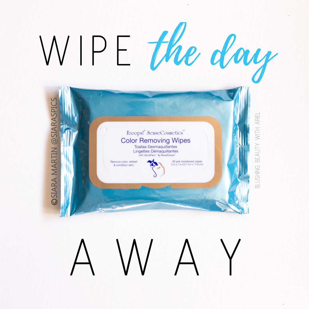 Wipe the entire day's worth of makeup and impurities away