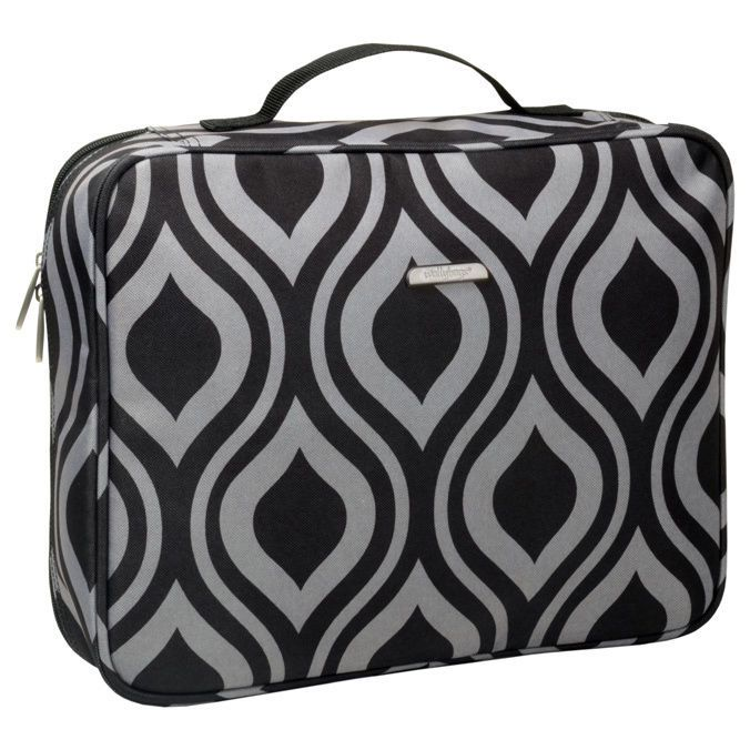 Womens Travel Toiletry Makeup Bag Zippered Multi Pocket Cosmetic Organizer New