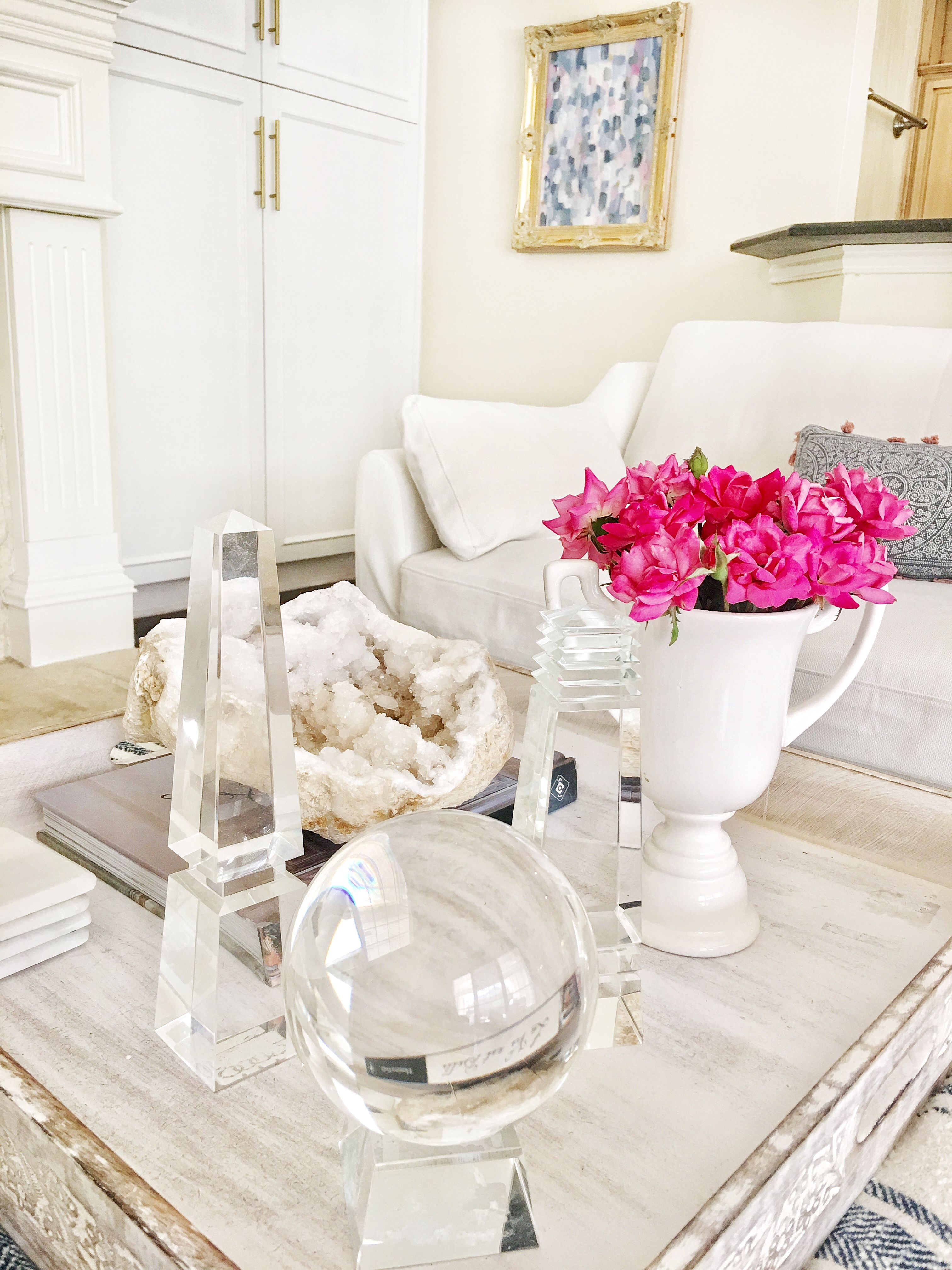 obelisk furniture. Tray Styling. Coffee Table Crystal Obelisk. Decorating A Table. From @ Obelisk Furniture B