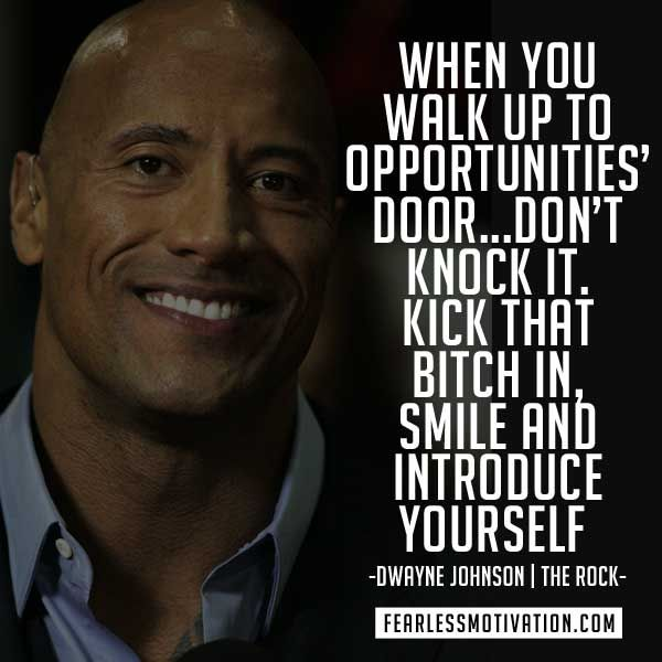 10 of the Best Motivation Quotes by Dwayne Johnson (The Rock