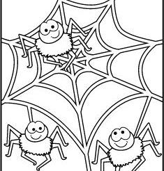 Halloween Coloring Pages Spider Coloring Page Halloween Coloring Halloween Coloring Pages