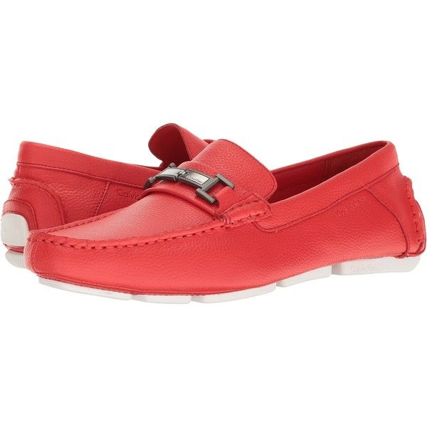 73f44697f8a Calvin Klein Magnus (Red) Men s Shoes ( 58) ❤ liked on Polyvore featuring