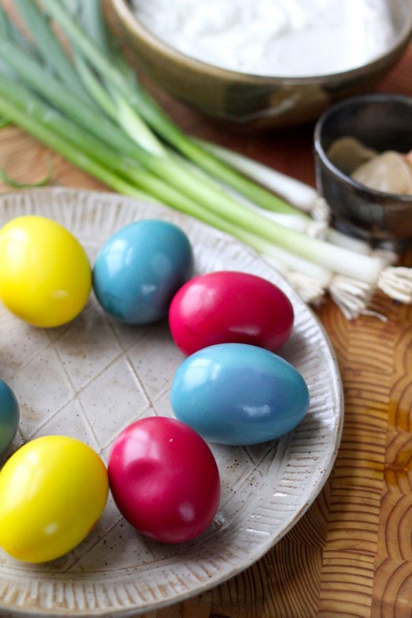 Dyed greek yogurt deviled eggs easter deviled eggs easter and egg forumfinder Image collections