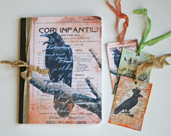 Hey, I found this really awesome Etsy listing at https://www.etsy.com/listing/250959503/raven-journal-composition-notebook