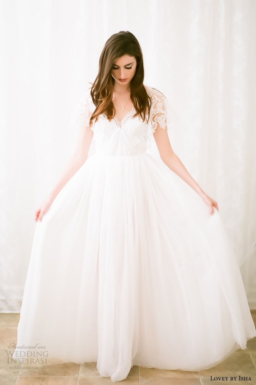 Lovey by isha spring wedding dresses wedding dresses
