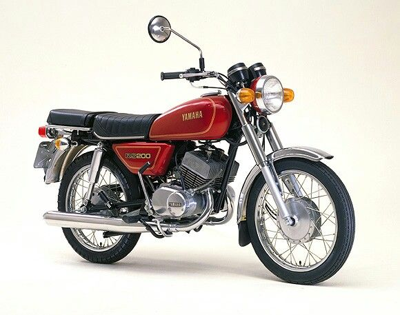 Yamaha Rs200 Yamaha Bikes Japanese Motorcycle Vintage Motorcycles