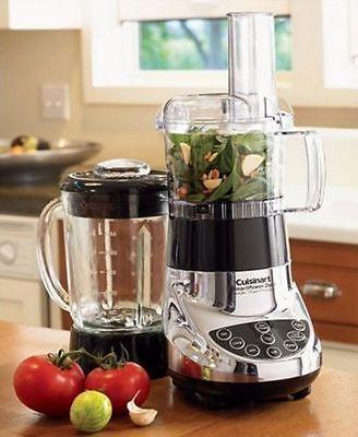 Cuisinart Bfp 703 Smartpower Duet Blender W Glass Jar Amp Food Processor 2 Colors Food Processor Recipes Blender Blender Food Processor