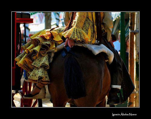 Mujer y caballo