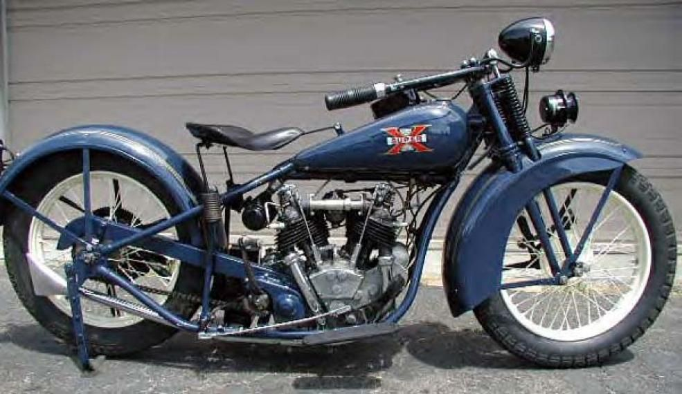 pictures Vintage motorcycle excelsior henderson