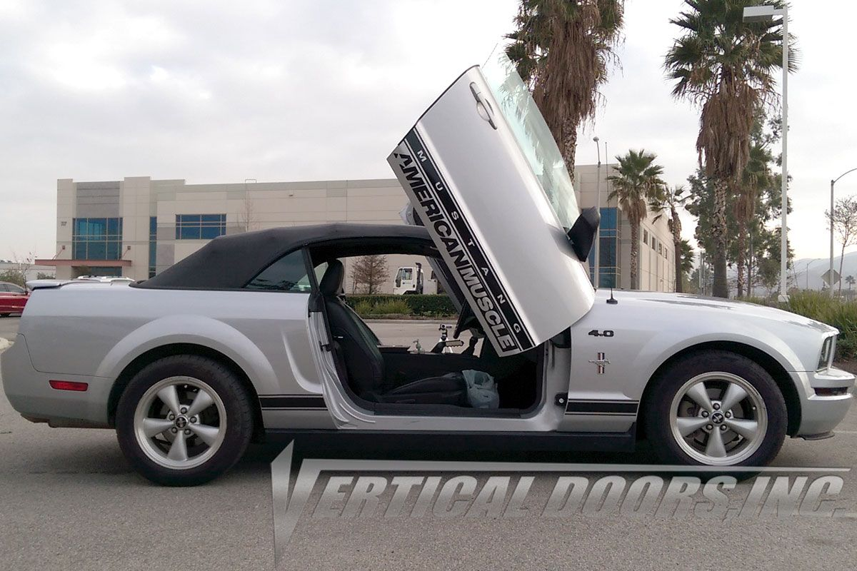 Here Comes The Monster With Style Now Visit Verticaldoors Com And Get The Latest Lambo Door Kits And All Kind Of Auto Part Vertical Doors Lambo Ford Mustang