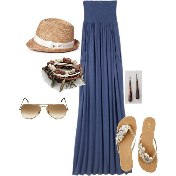 The Beach, created by tobilynn on Polyvore