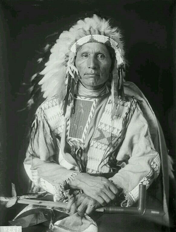 Native American Indian Man.