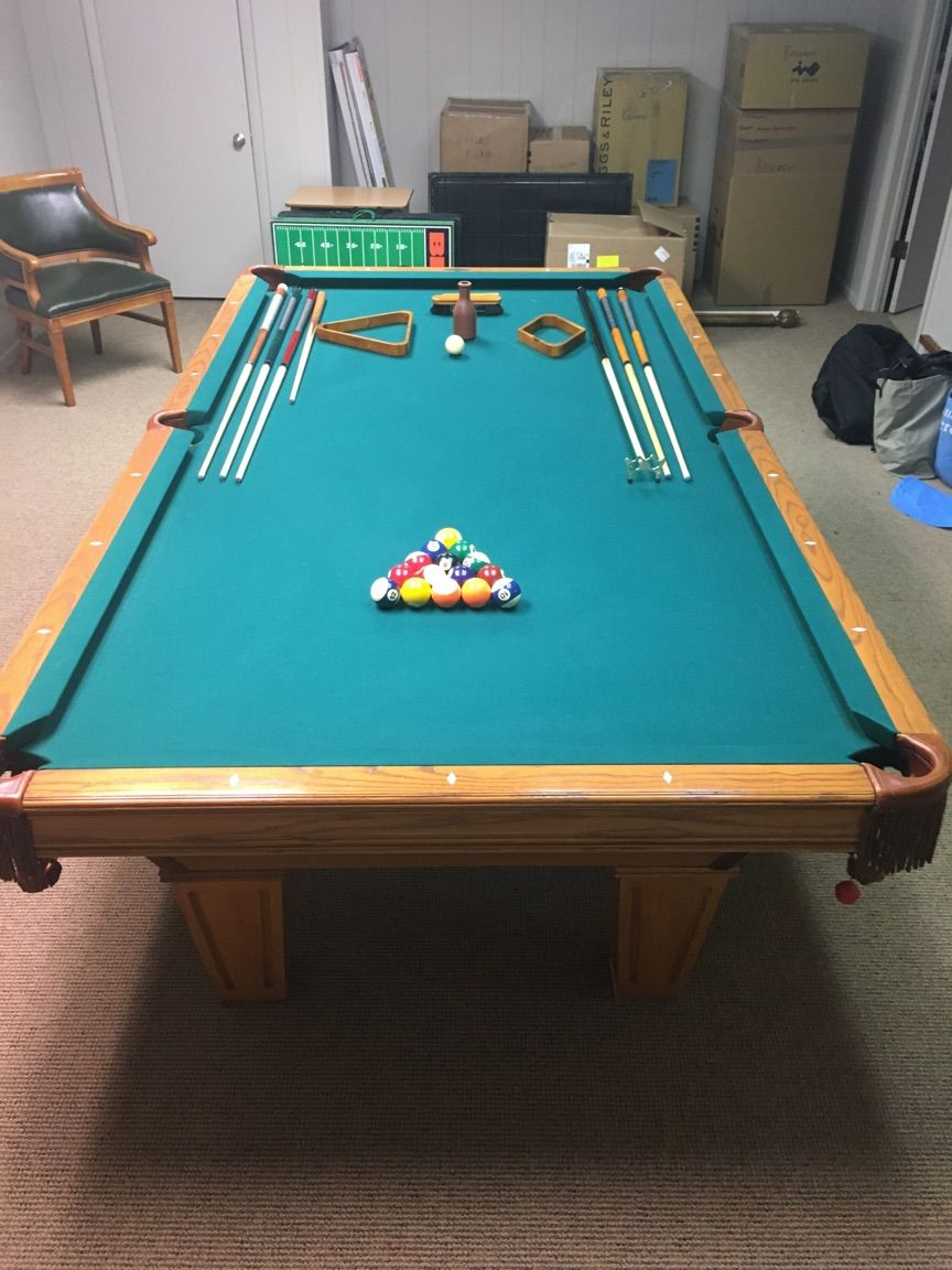 Brunswick Billiards Brookstone Sold Used Pool Tables Billiard - Brunswick pool table reviews