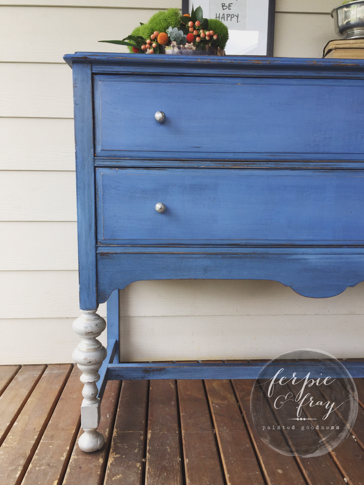 I love this color blue! Old Fashioned Milk Paint Co \