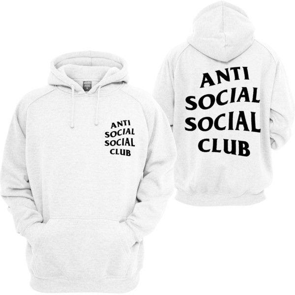 Anti Social Social Club ASSC White logo Mind Games Black Hoodie bape