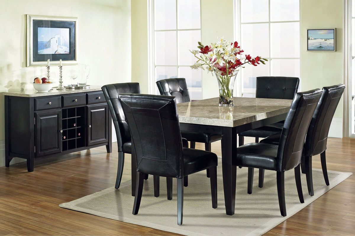 Monarch Dining Table 6 Chairs With Images Dining Room Table