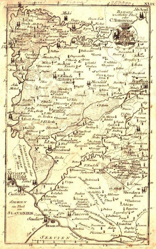 Torontal County Map1800 httpoldzrenjaninblogspotrs201510
