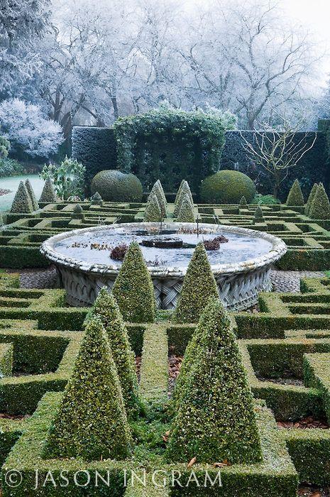 Bourton House Garden   Formal Gardens.