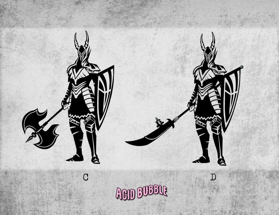 Dark Souls Black Knight Decal Sticker Black Knight Greatsword Etsy Wall Decor Stickers Dark Souls Wall Vinyl Decor [ 872 x 1134 Pixel ]