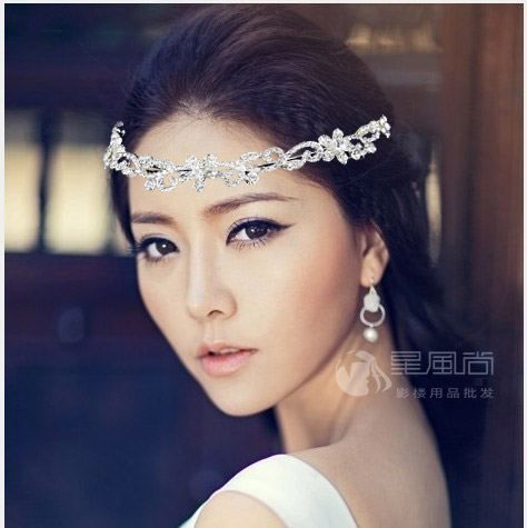 Wholesale 5pcs/lot Zircon Crystal Bride Tiara Crown Crystal Quinceanera Crowns 2013 Innovative Items For Women WIGO0077-in Hair Jewelry from Jewelry on Aliexpress.com