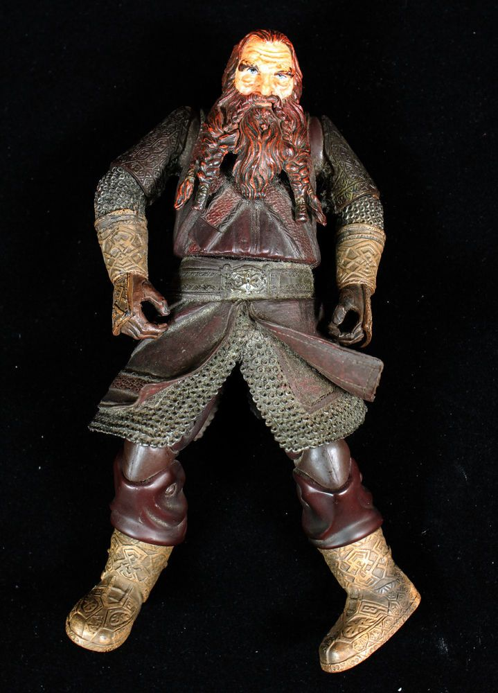 Gimli Lord of the Rings Action Figure Doll 85 Tall