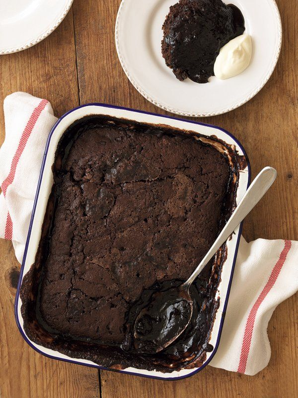 Classic Self-saucing Chocolate Pudding