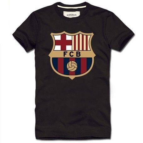 0c03ceb15 Futbol Club Barcelona FCB logo short sleeve t shirt - Tshirtsky ...