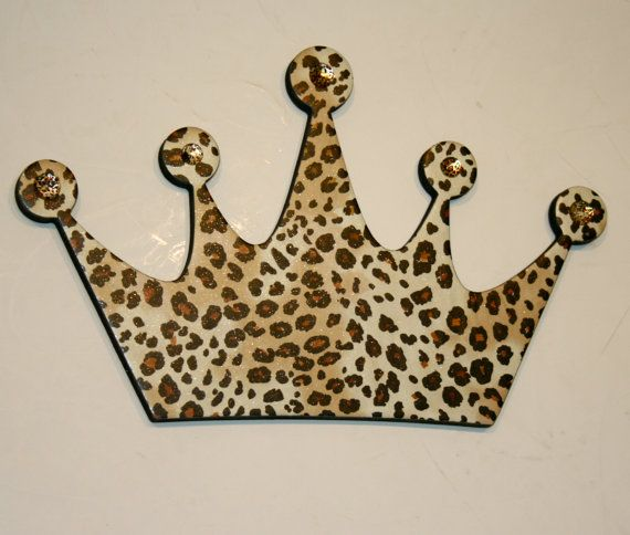Leopard Princess Crown Wall Decor Diva For S Room