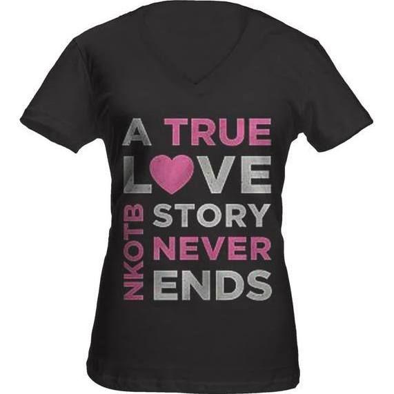 edcc5f31b nkotb t shirt True Love Stories