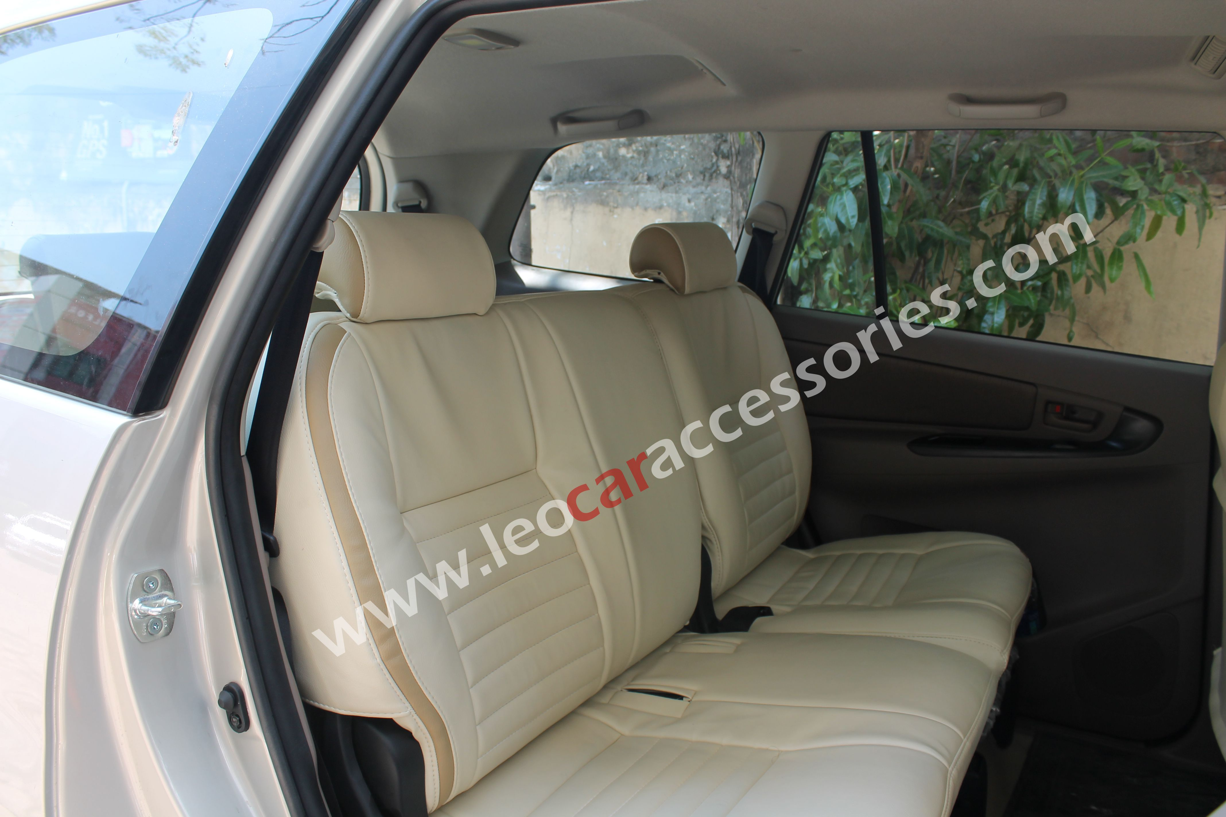 Toyota innova custom fit car seat cover from feather at leo car accessories
