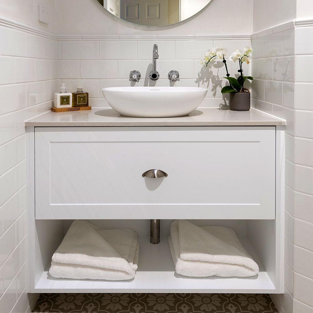 Semi Custom Hamptons Wall Hung Bathroom Vanity In 2020 Wall