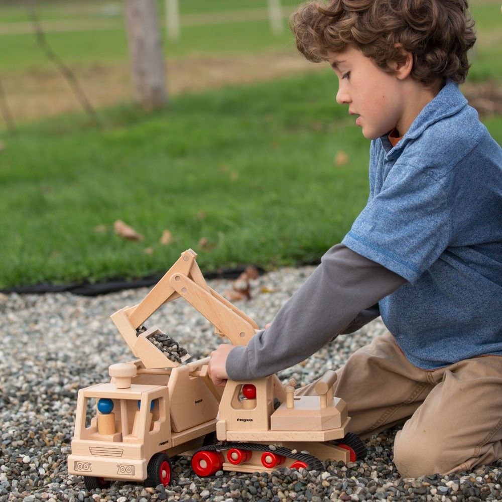 Nova Natural has the best wooden vehicles. Tons of options!