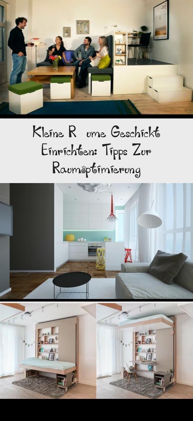 Kleine Raume Geschickt Einrichten Tipps Zur Raumoptimierung Dekoration Flureinrichten 10 Qm Zimmer Einrichten Bett Mit Integriert In 2020 Home Decor Furniture Home