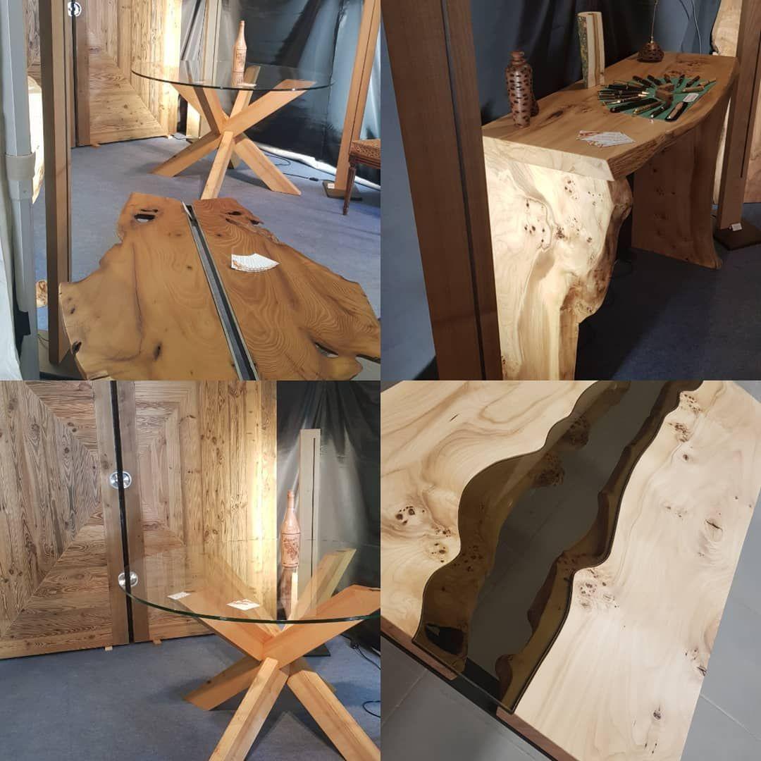 Tables Portes Bois Rares Et Jolis Meubles J Adore Creation De Georges Lestage Repere Au Salondelhabitat Georgeslestage Uzes In 2020 Home Decor Decor Furniture