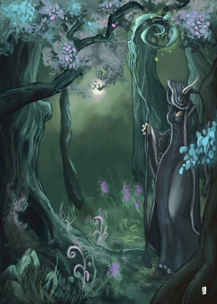 Magic Forest by ~Netheriel on deviantART